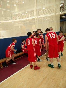 Basketball win