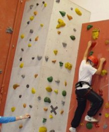 This image has an empty alt attribute; its file name is climbing-wall.jpg