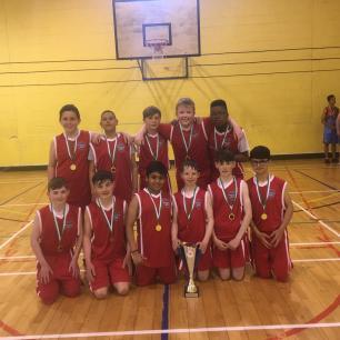 County Basketball Champions Boys