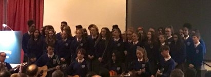 Choir on Open Night 2019